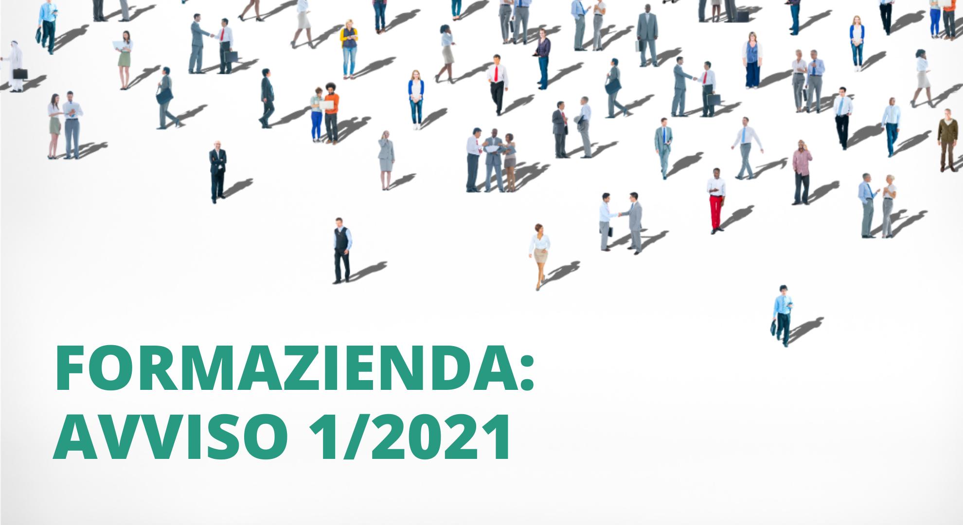 Formazienda - avviso 1/2021 - riqualificazione delle risorse umane